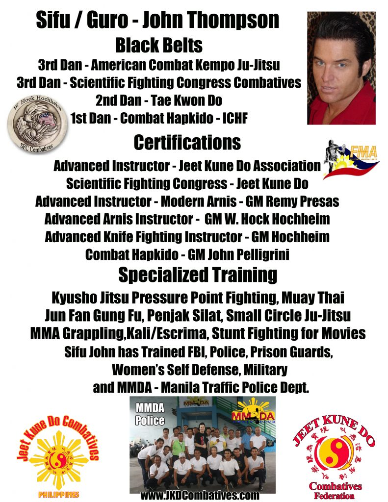 Jeet Kune Do in Angeles City
